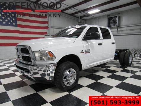 2016 Ram 3500 Dodge ST 4x4 Diesel Dually Cab Chassis White New Tires in Searcy, AR