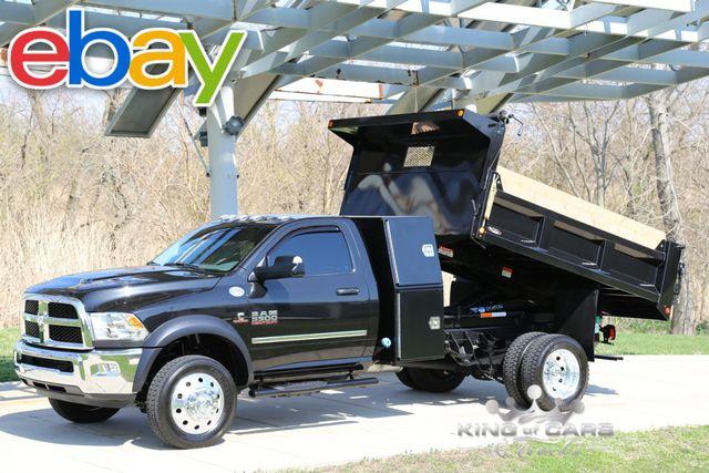 2016 Dodge Ram 5500 Mason DUMP I-PACK 6.7L DIESEL 7K MILES 4X4 LOADED