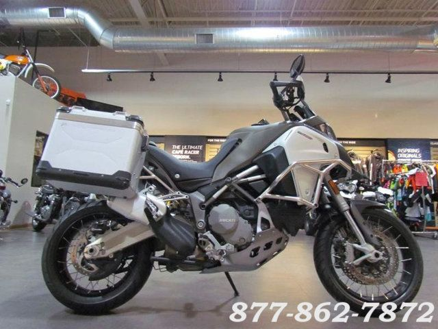 2016 Ducati MULTISTRADA 1200 ENDURO WHITE STAR SILK MULTISTRADA 1200