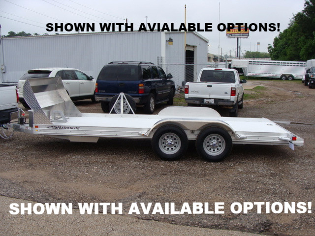 2021 Featherlite 3110 Open Car Trailer Available Options CONROE, TX 1