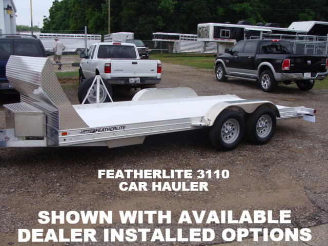 2021 Featherlite 3110 Open Car Trailer Available Options