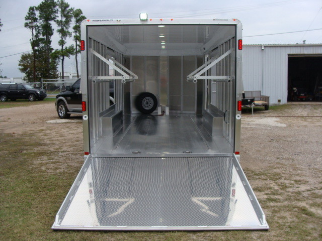 2016 Featherlite 4926 - 24' Enclosed Car Trailer ENCLOSED CAR TRAILER CONROE, TX 9