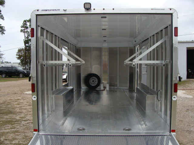 2016 Featherlite 4926 - 24' Enclosed Car Trailer ENCLOSED CAR TRAILER CONROE, TX 10