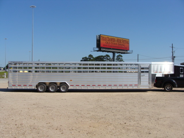 2016 Featherlite 8127 7 - 40' Stock Trailer STOCK TRAILER CATTLE TRAILER CONROE, TX 27