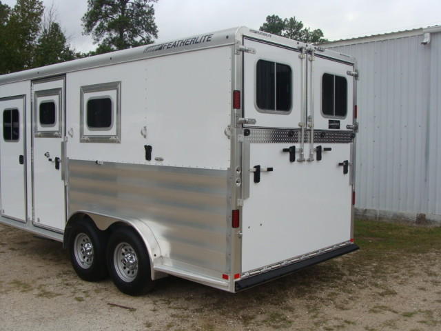 2016 Featherlite 8542 Legend Edition Two Horse Big Horse CONROE, TX 13