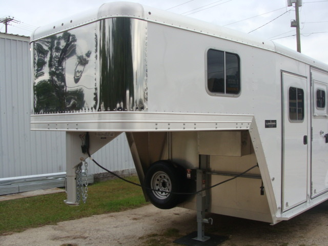 2016 Featherlite 8542 Legend Edition Two Horse Big Horse CONROE, TX 4