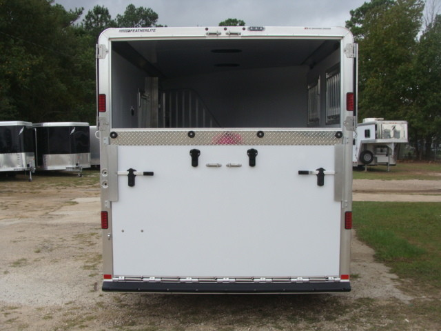 2016 Featherlite 8542 Legend Edition Two Horse Big Horse CONROE, TX 17