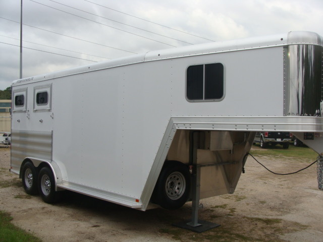 2016 Featherlite 8542 Legend Edition Two Horse Big Horse CONROE, TX 1