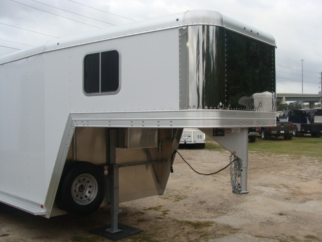 2016 Featherlite 8542 Legend Edition Two Horse Big Horse CONROE, TX 2