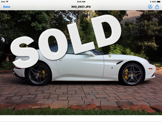 2016 Ferrari California T Houston, Texas 0
