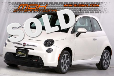 2016 Fiat 500e - Navigation - Sunroof - White Pearl in Los Angeles