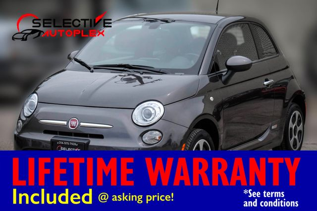 2016 Fiat 500e Battery Electric Hatchback, NAV, HEATED SEATS