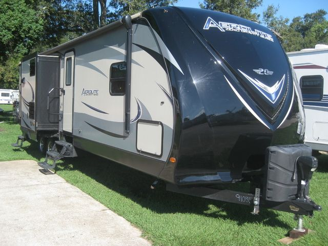 2016 For Rent Or Sale- Aerolite 319bhss 37' BUNKHOUSE w/ 3 SLIDES and OUTDOOR KITCHEN