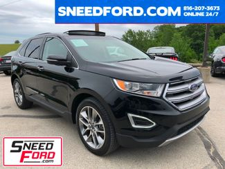 2016 Ford Edge Titanium AWD 2.0L I4 in Gower Missouri, 64454