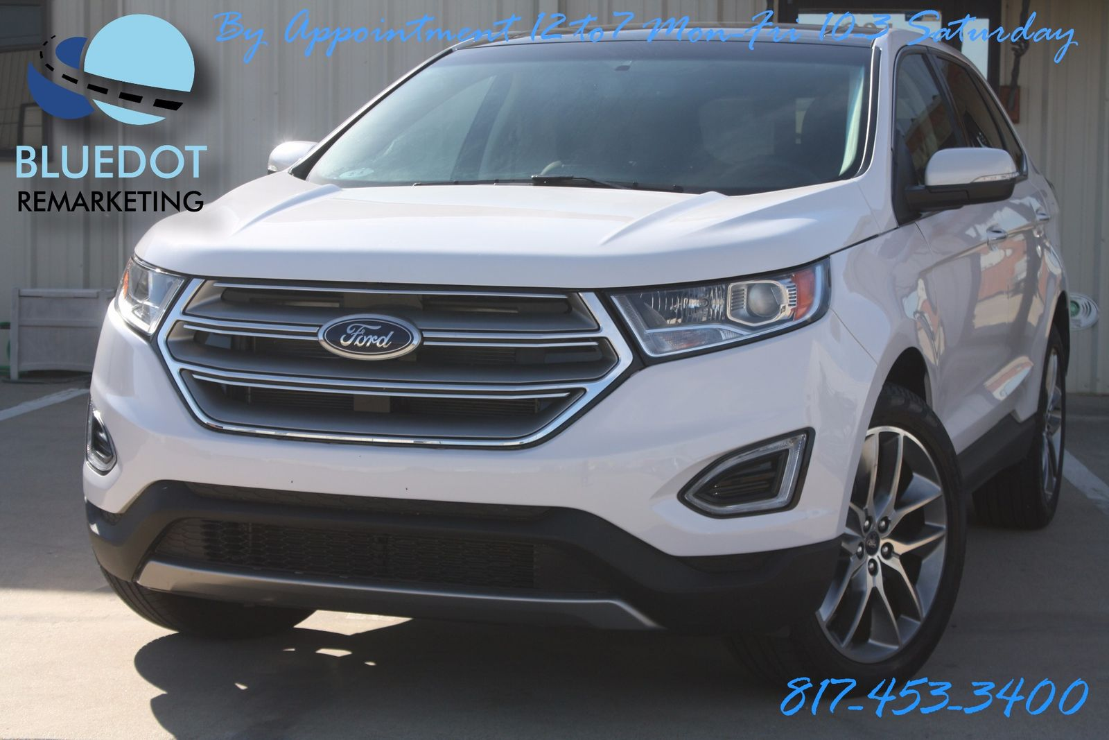Ford Edge Titanium Tech Package Blind Spot Monitor Vista Roof Cooled Heated