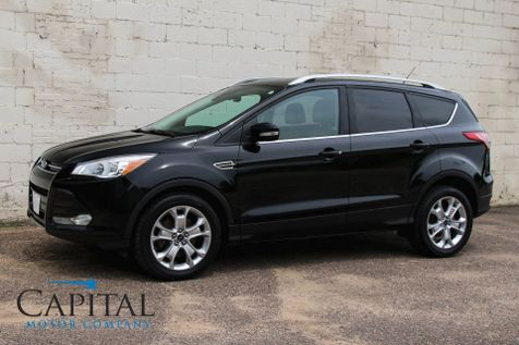 2016 Ford Escape Titanium 4WD Crossover w/Navigation, Backup Cam, Panoramic Roof, Heated Seats & Hitch in Eau Claire