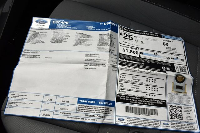 2016 Ford Escape SE Waterbury, Connecticut 33
