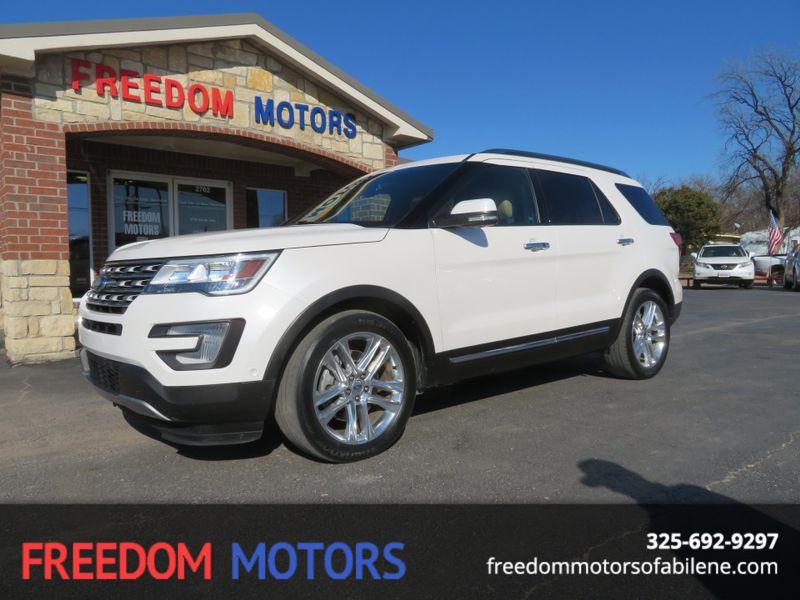 2016 Ford Explorer Limited   Abilene, Texas   Freedom Motors  in Abilene Texas