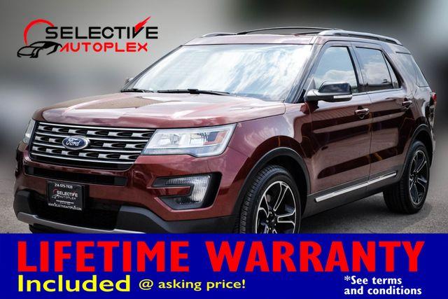 2016 Ford Explorer XLT*Sunroof*Leather*Nav*Push Start*PWR Tail Gate*