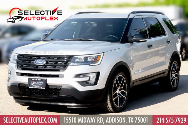 2016 Ford Explorer Sport*Pano Roof*Nav*heat/Cool Seat*Rear Cap Seat* in Addison, TX 75001