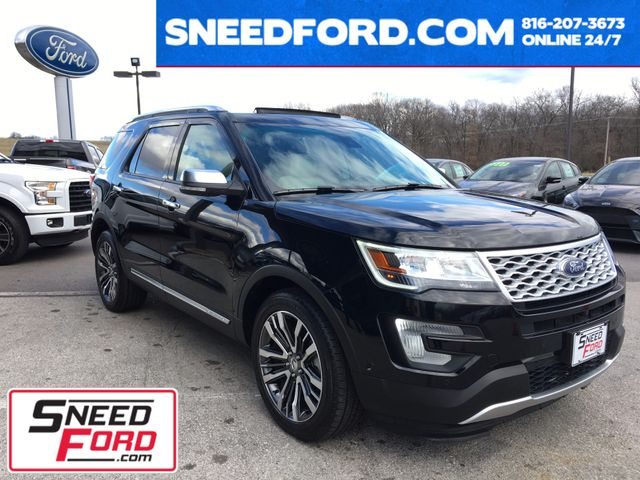 2016 Ford Explorer Platinum 4X4