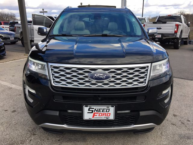 2016 Ford Explorer Platinum 4X4 in Gower Missouri, 64454