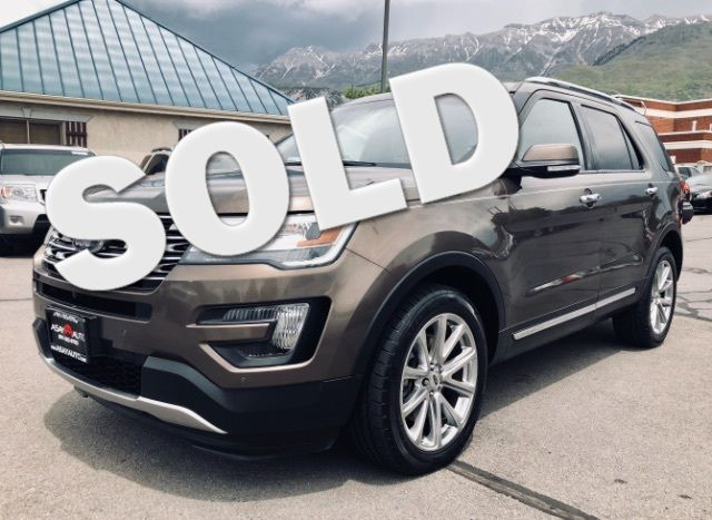 2016 Ford Explorer Limited LINDON, UT