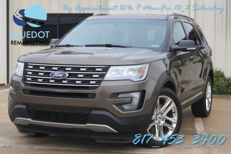 2016 Ford Explorer XLT | 4WD-DRIVER ASSIST- HANDSFREE TAILGATE-DUAL ROOF-WARRANTY! in Mansfield, TX
