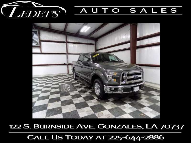 2016 Ford F-150 4WD XLT  - Ledet's Auto Sales Gonzales_state_zip in Gonzales Louisiana