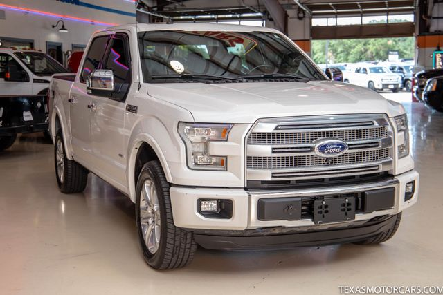 2016 Ford F-150 Platinum 4x4 in Addison, Texas 75001