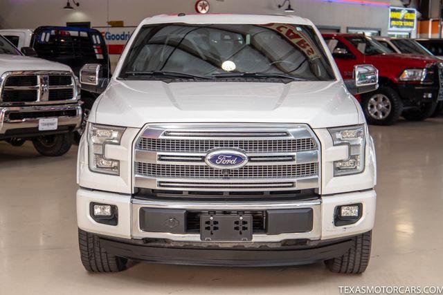 2016 Ford F-150 Platinum 4x4 in Addison, Texas 75001