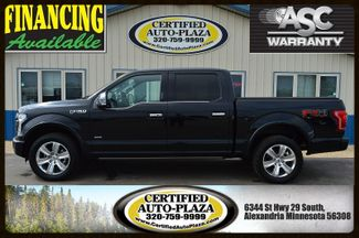 2016 Ford F-150 Platinum Supercrew 4x4 in  Minnesota