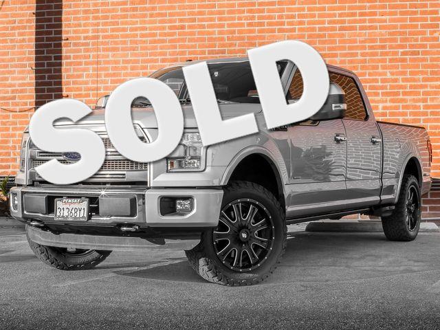2016 Ford F-150 Platinum Burbank, CA 0