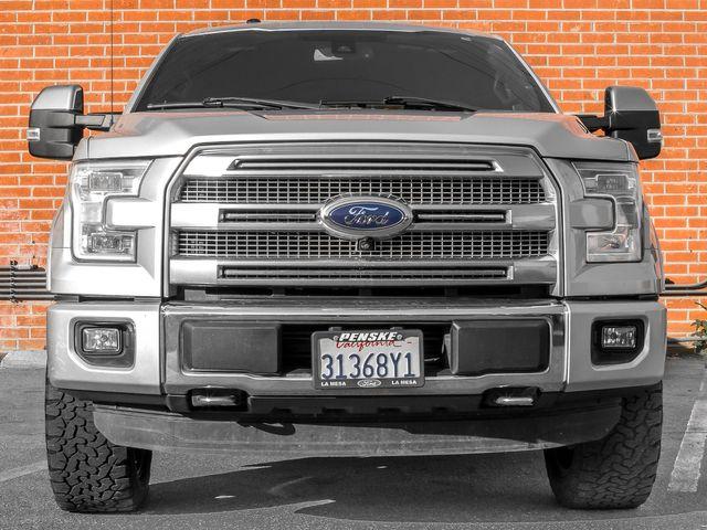 2016 Ford F-150 Platinum Burbank, CA 2