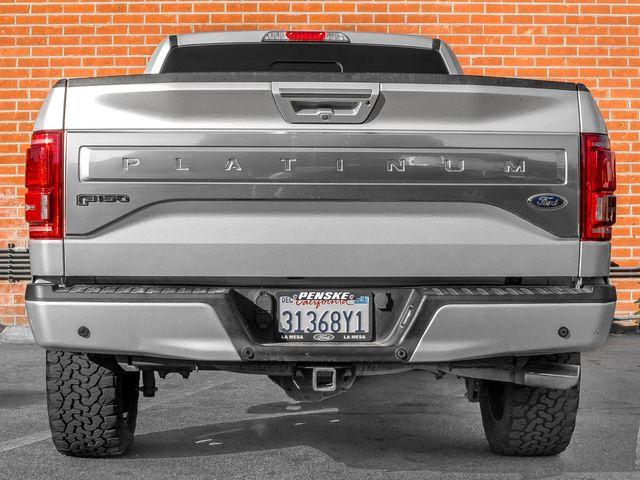 2016 Ford F-150 Platinum Burbank, CA 3