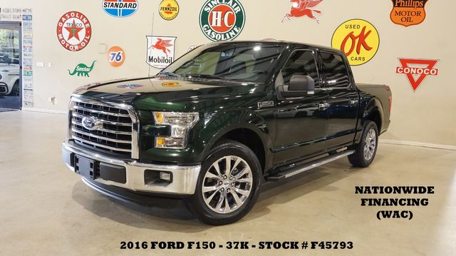 2016 Ford F-150 XLT TX EDITION 5.0L,BACK-UP CAM,CHROME 20'S,37K