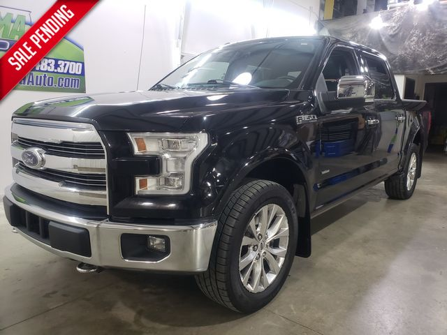 2016 Ford F-150 Lariat FX4 Super Crew 3.5L in Dickinson, ND 58601