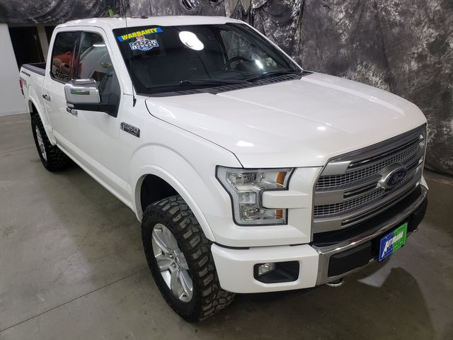 2016 Ford F-150 Platinum FX4 in Dickinson, ND 58601