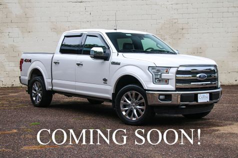 2016 Ford F-150 King Ranch SuperCrew 4x4 w/Ecoboost V6, Navigation, Heated/Cooled Seats & Panoramic Roof in Eau Claire