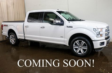 2016 Ford F-150 Platinum 4x4 Crew Cab w/6.5ft box, Navigation, Panoramic Moonroof & Heated Seats in Eau Claire