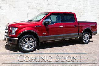 2016 Ford F-150 King Ranch 4x4 w/Navigation, 360° Cam, Heated F&R Seats and Panoramic Roof in Eau Claire, Wisconsin 54703