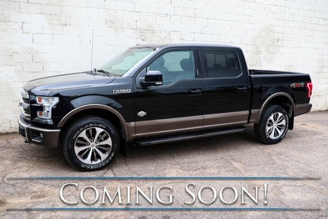 "2016 Ford F-150 King Ranch SuperCrew 4x4 w/Navigation, Pro-Trailer Assist, Panoramic Roof & 20"" Wheels in Eau Claire, Wisconsin 54703"