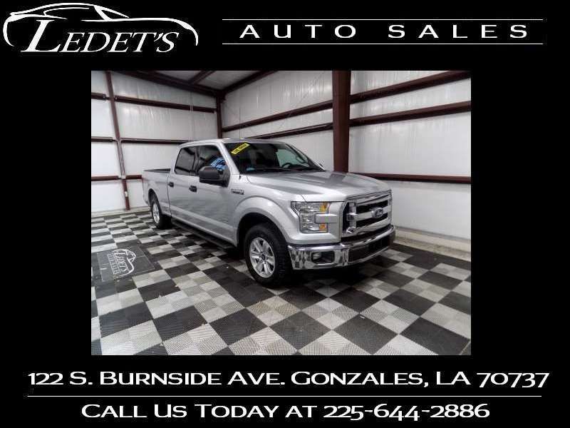 2016 Ford F-150 XLT - Ledet's Auto Sales Gonzales_state_zip in Gonzales Louisiana