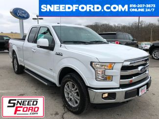2016 Ford F-150 Lariat 4X4 2.7L V6 Ecoboost in Gower Missouri, 64454