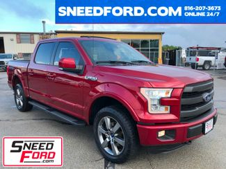 2016 Ford F-150 Lariat 4X4 5.0L V8 in Gower Missouri, 64454