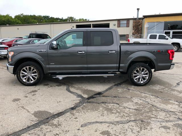 2016 Ford F-150 Lariat 4X4 3.5L V6 Ecoboost in Gower Missouri, 64454