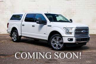 2016 Ford F-150 Limited SuperCrew Ecoboost 4x4 w/Topper, in Eau Claire, Wisconsin