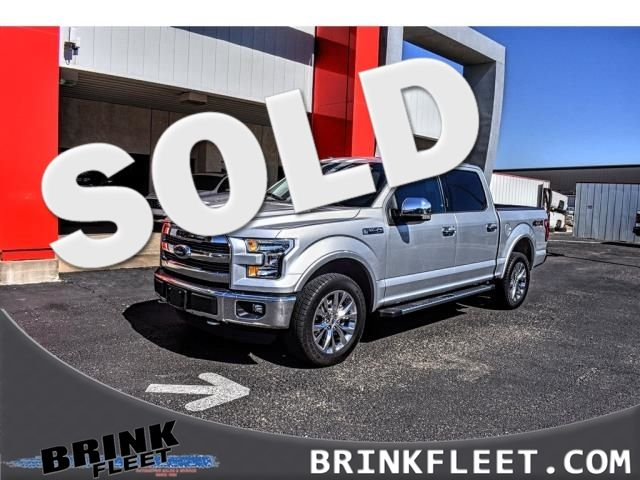 2016 Ford F-150 4WD SuperCrew 145 Lariat | Lubbock, TX | Brink Fleet in Lubbock TX