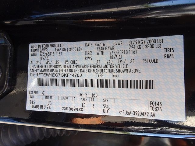 2016 Ford F-150 XLT Madison, NC 51