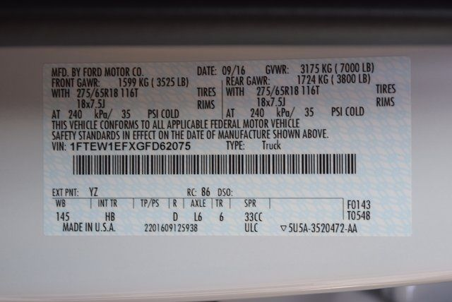 2016 Ford F-150 Lariat ROUSH SC in McKinney Texas, 75070